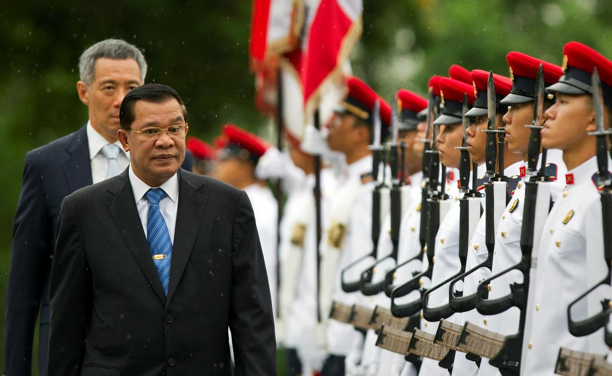 Cambodia's Hun Sen says Singapore supported genocide