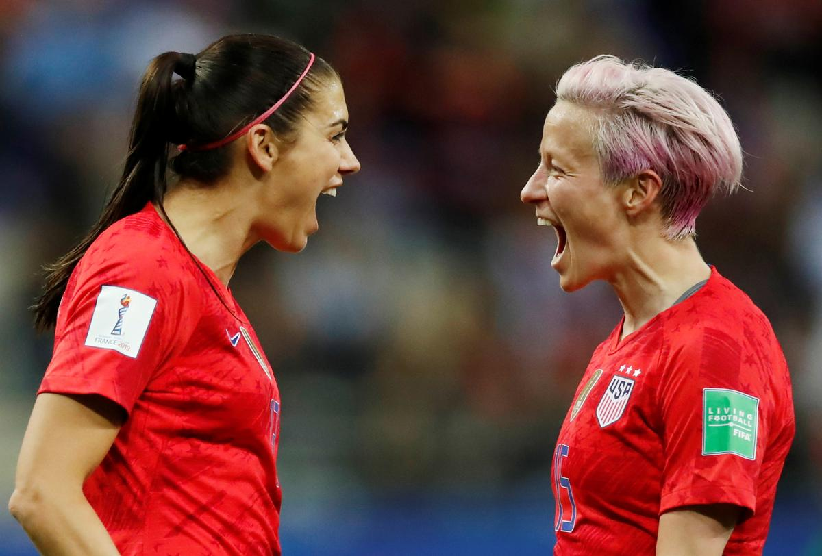 Morgan scores five as U.S. beat Thailand with record 13-0 win