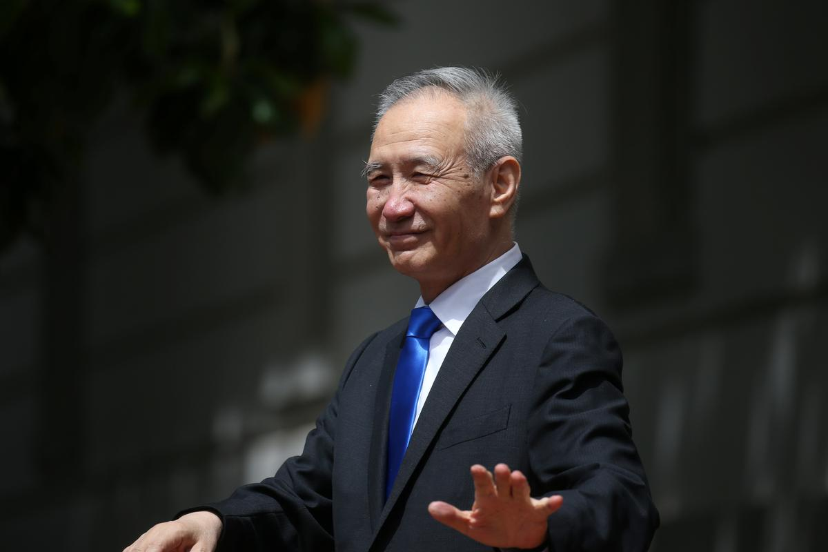 Image result for Chinese vice premier urges more support for economy amid trade war