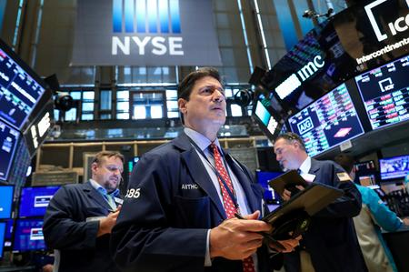 Wall Street ends slightly lower with Fed in focus