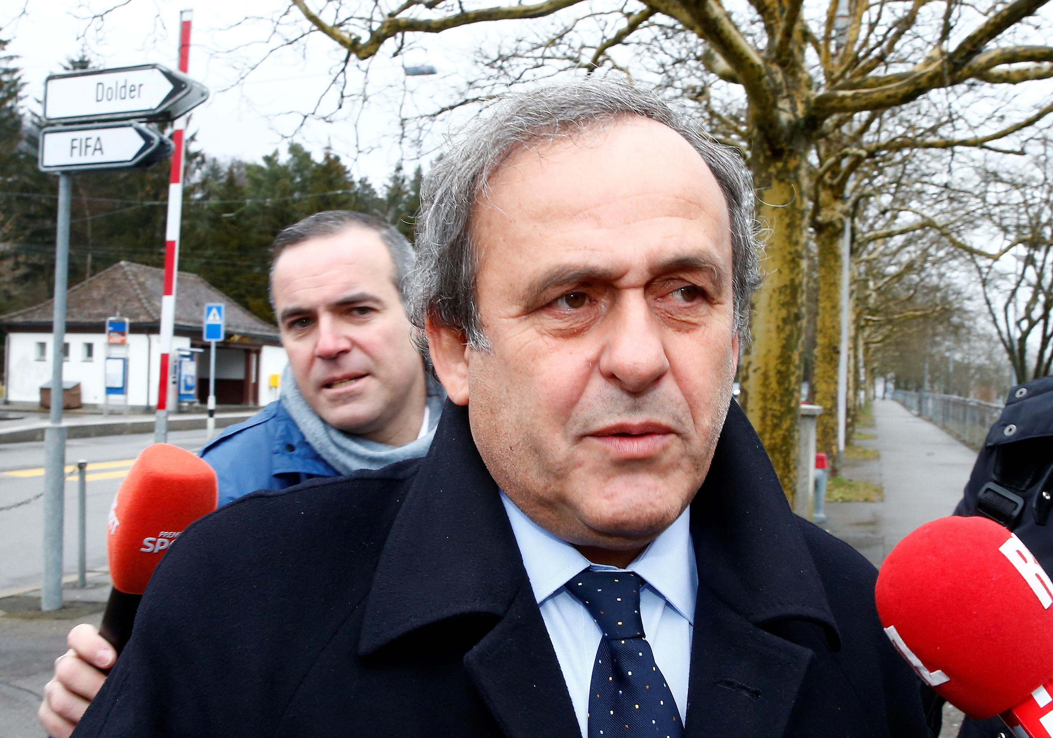 Former UEFA chief Platini questioned in Qatar World Cup probe - judicial source
