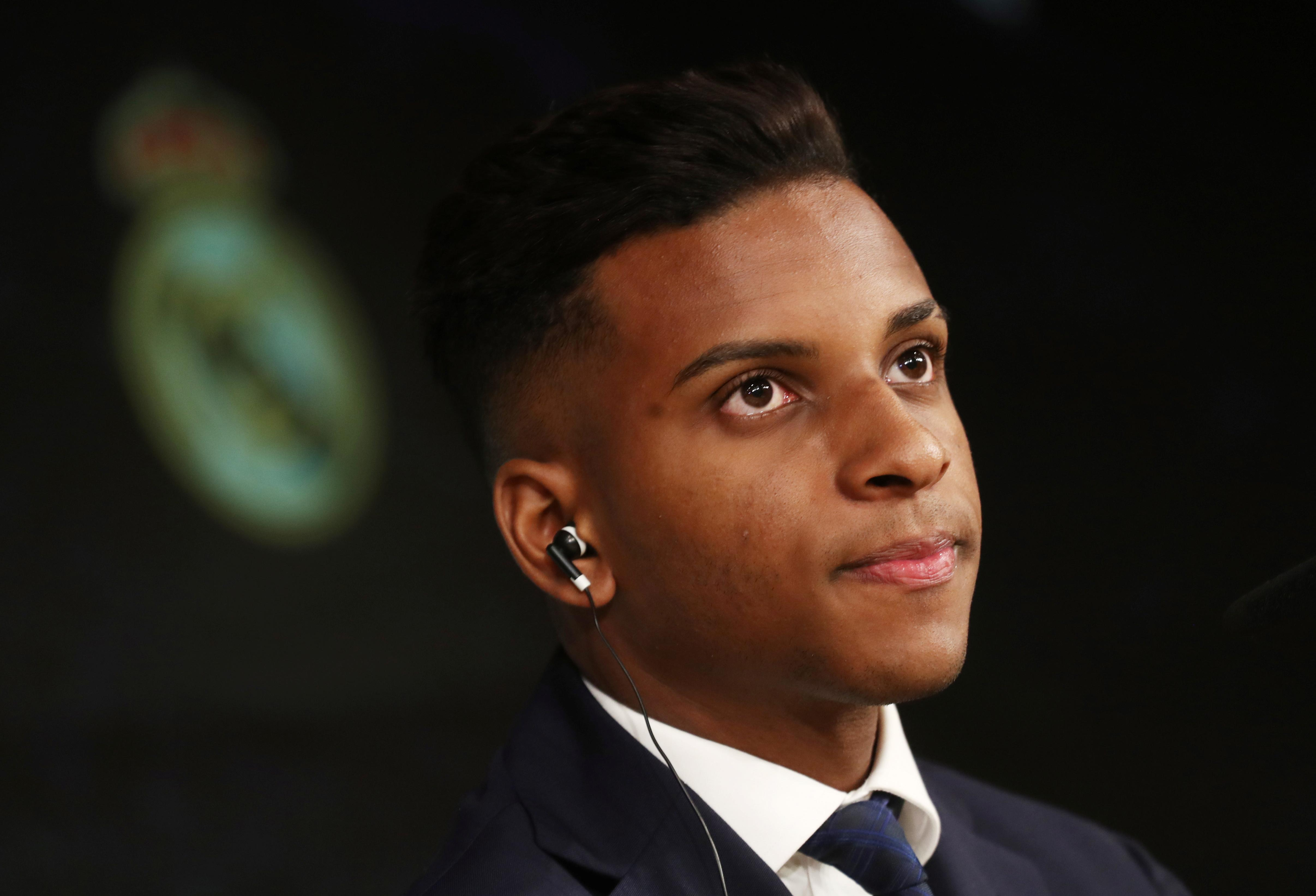 Rodrygo ready to wait for his chance to shine at Real Madrid