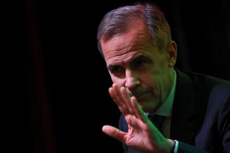 BoE's Carney says keeping open mind on Facebook's Libra