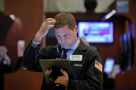 Wall St. opens slightly higher ahead of Fed's statement
