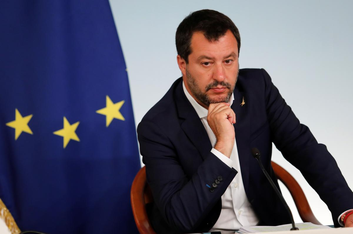 Italy's Salvini threatens to resign in budget row with EU