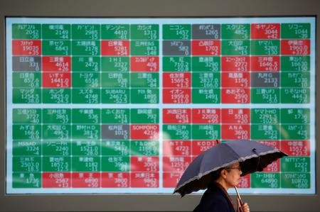 Asian stocks tick up, oil rises amid U.S.-Iran tensions