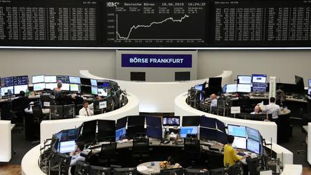 G20 nerves hit Europe stocks; dollar slips to three-month low