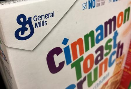 General Mills sales hit by low demand for Nature Valley, Fiber One bars