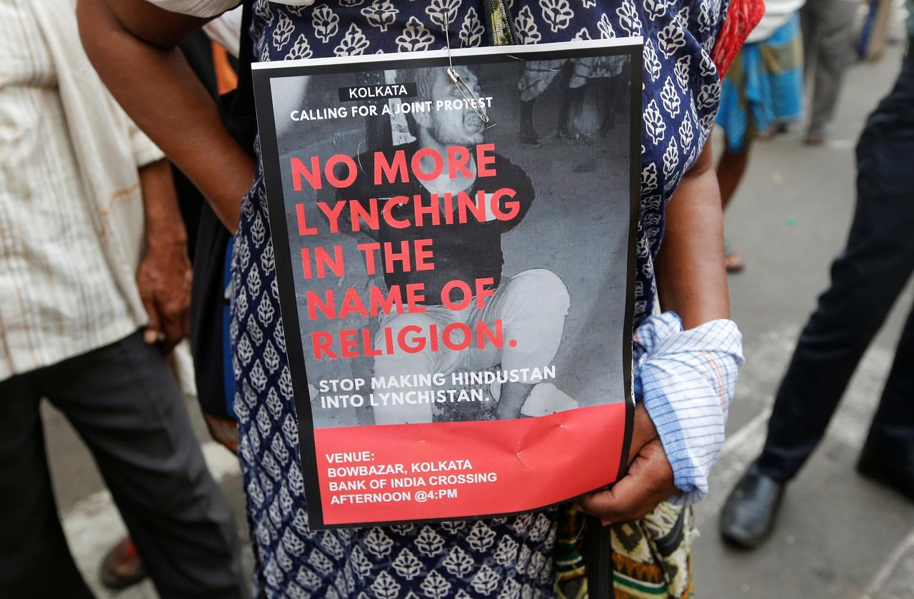 Protests in Indian cities after Muslim man is lynched, Modi says he