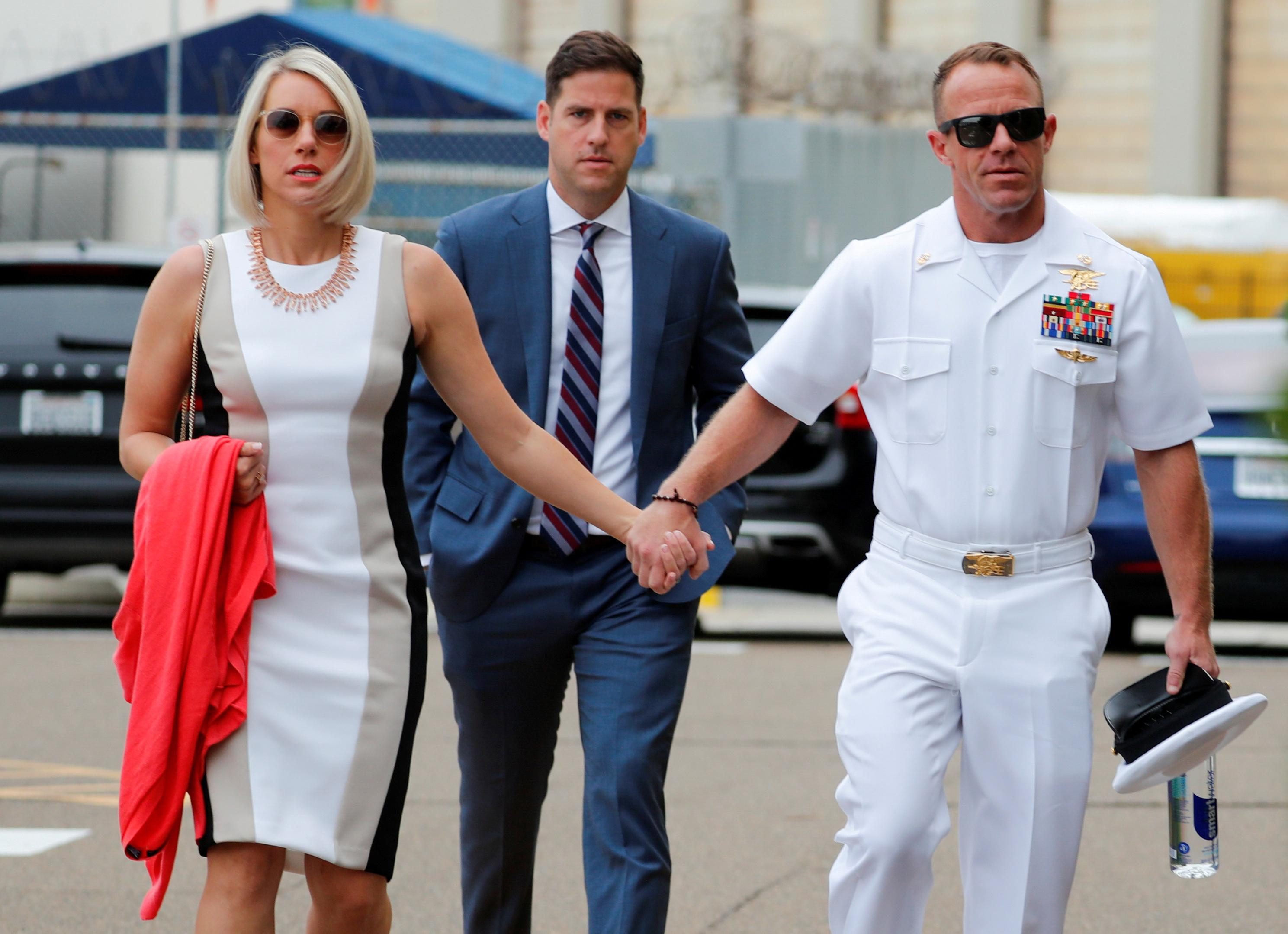U.S. Navy SEAL charged with war crimes had confidence of his immediate superior