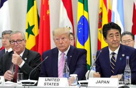 Trump talks trade at G20 as China's Xi, others warn of risks of protectionism