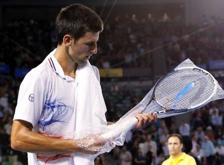 Wimbledon ditches plastic wrapping for restrung racquets