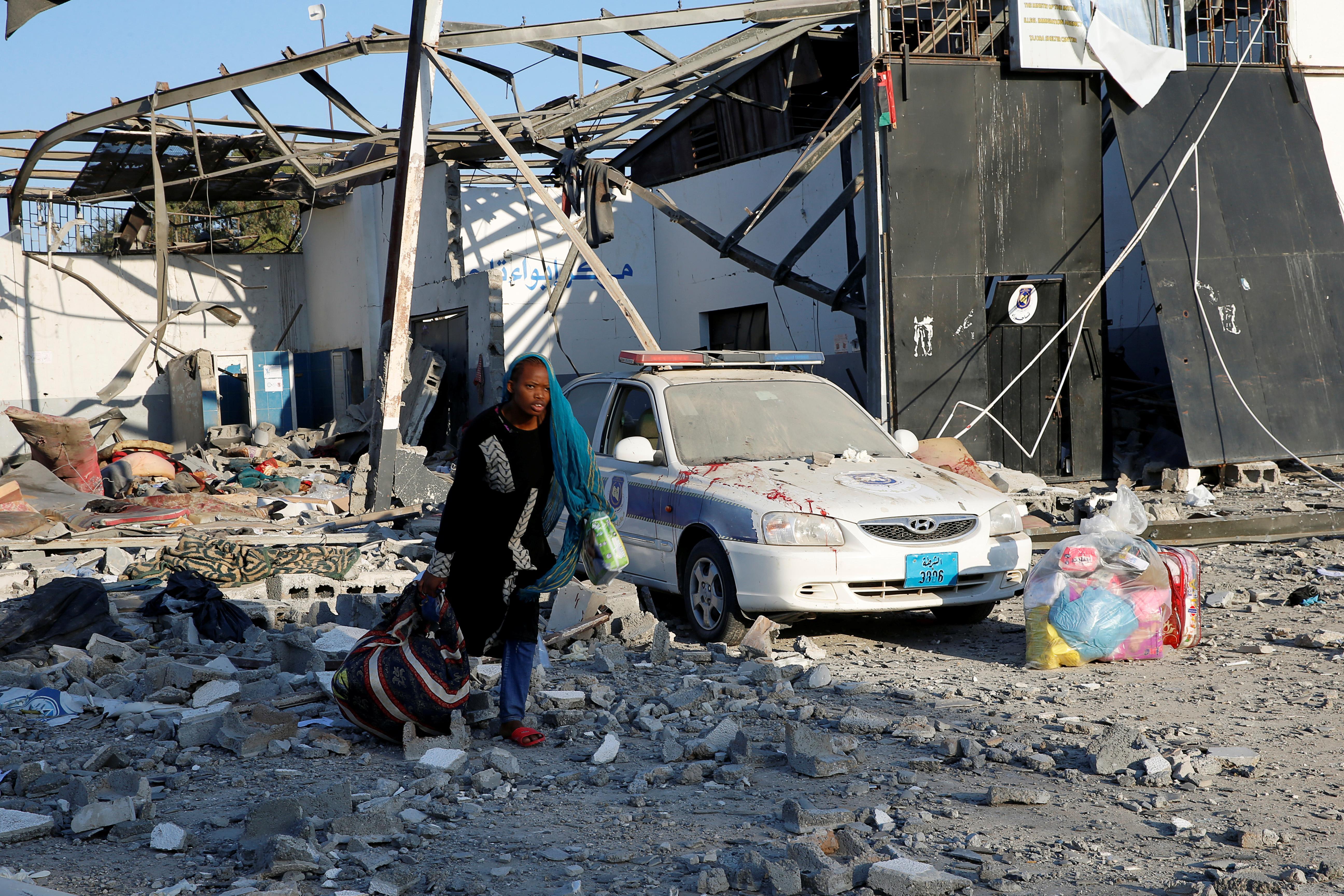 Au moins 40 morts en grève au centre de détention pour migrants en Libye, selon un responsable