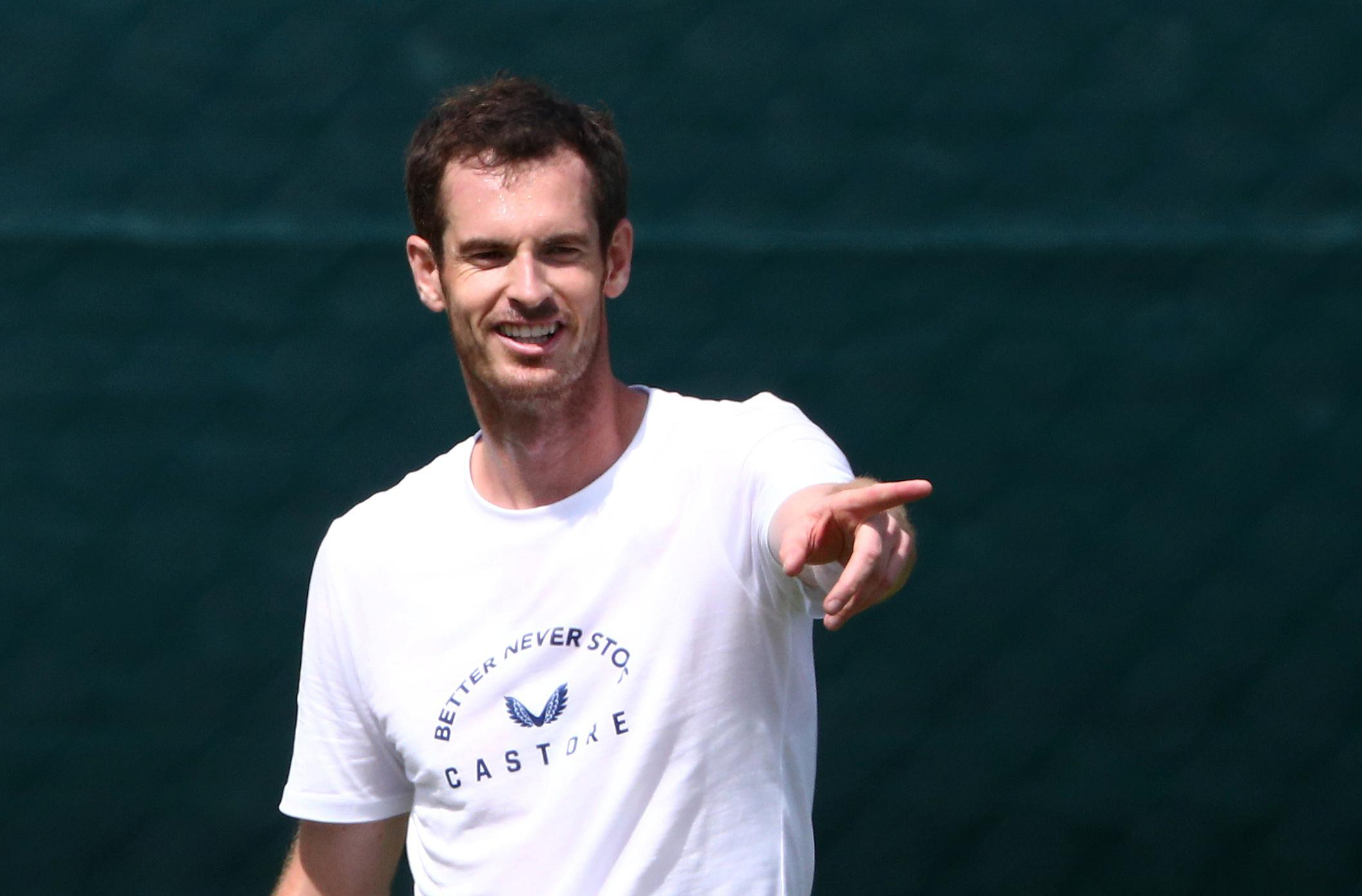 Murray relishing prospect of playing with Williams