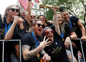 U.S. Women's World Cup victory parade