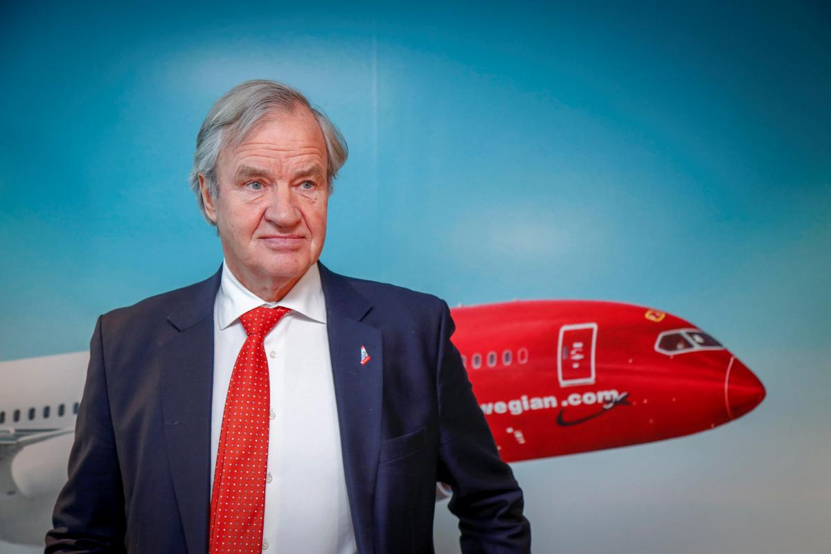 Image result for Norwegian Air CEO and co-founder steps down
