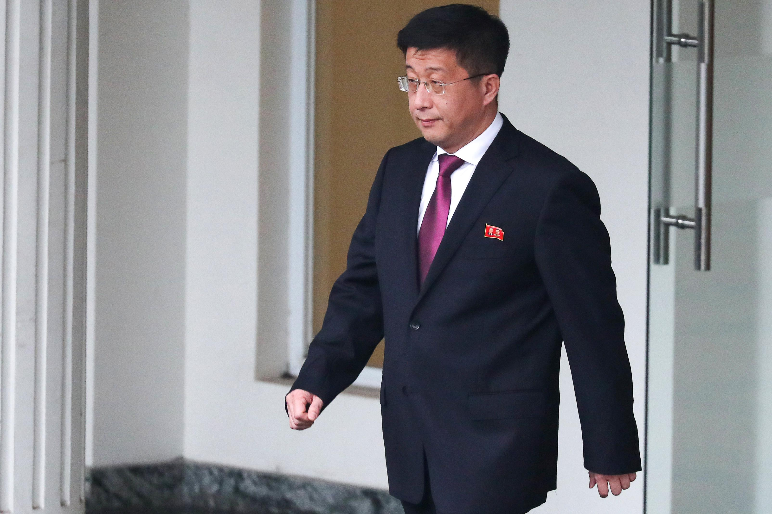North Korean nuclear envoy reported executed is alive: South Korea legislator