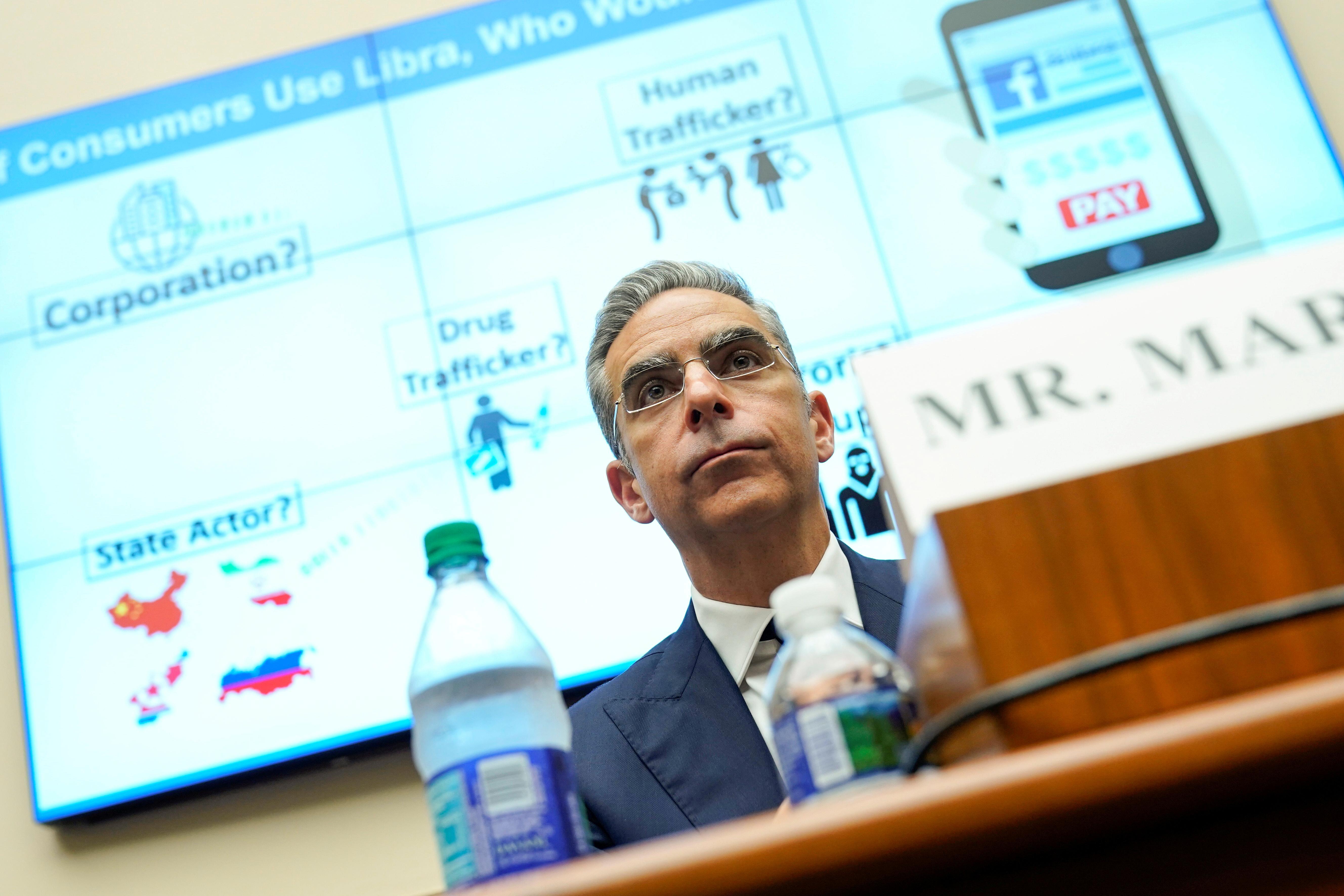 Les législateurs américains contestent Facebook sur le plan de la crypto-monnaie Libra