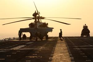 Aboard the USS Boxer