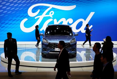 Ford results dented by restructuring, gives low '19 forecast