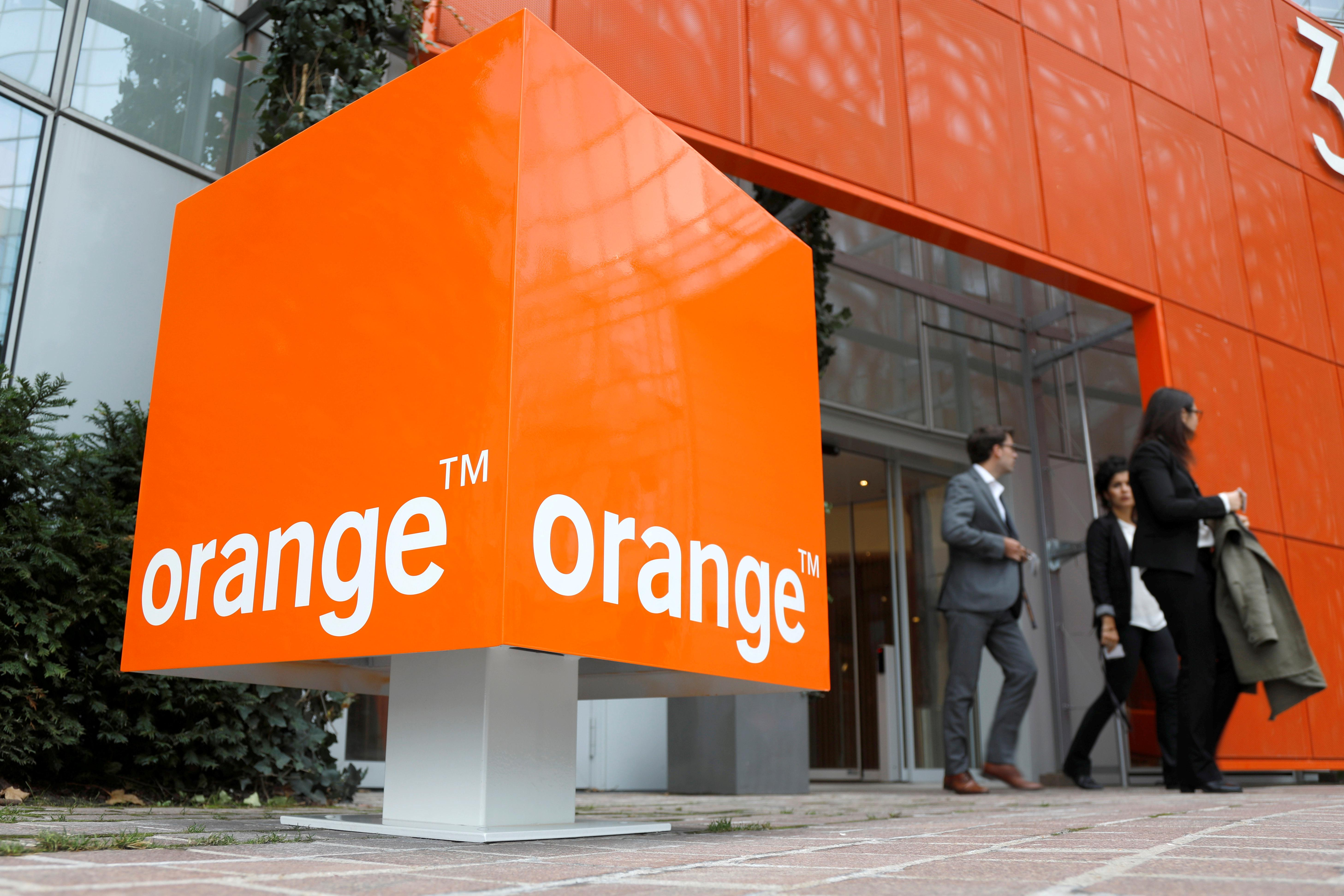 Orange sees signs of improvement in France's telecoms market