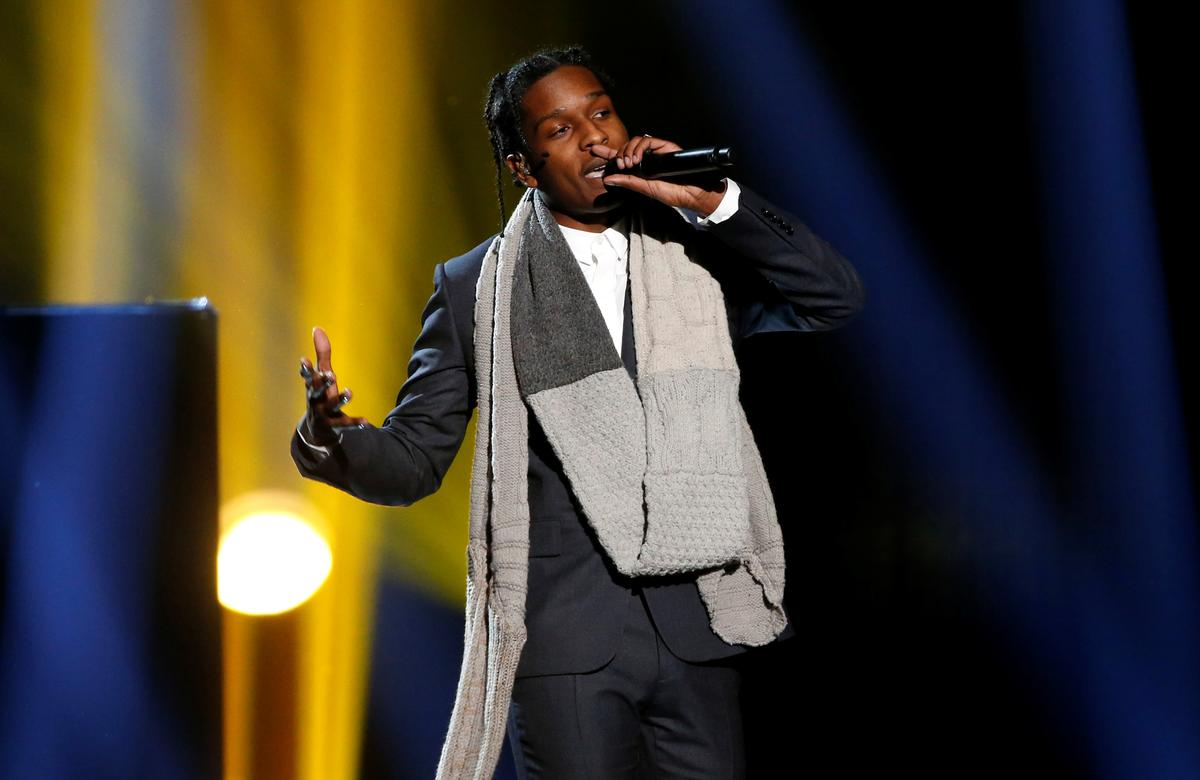 A$AP Rocky goes on trial in Stockholm