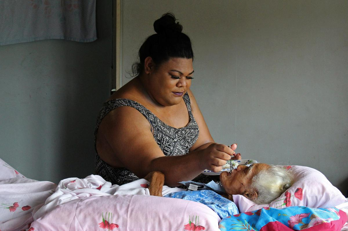 Samoa's 'third gender' delicately balances sex and religion