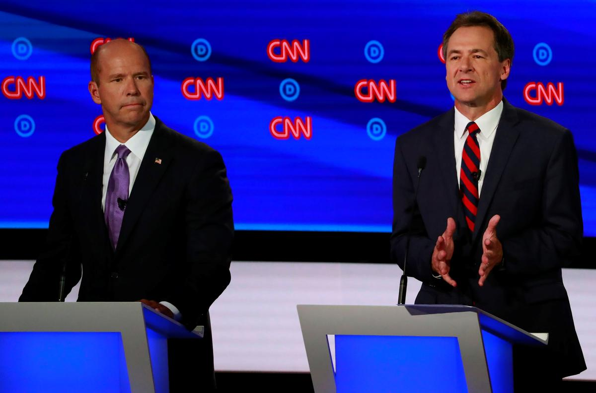 Factbox: How each candidate performed in the second Democratic debate