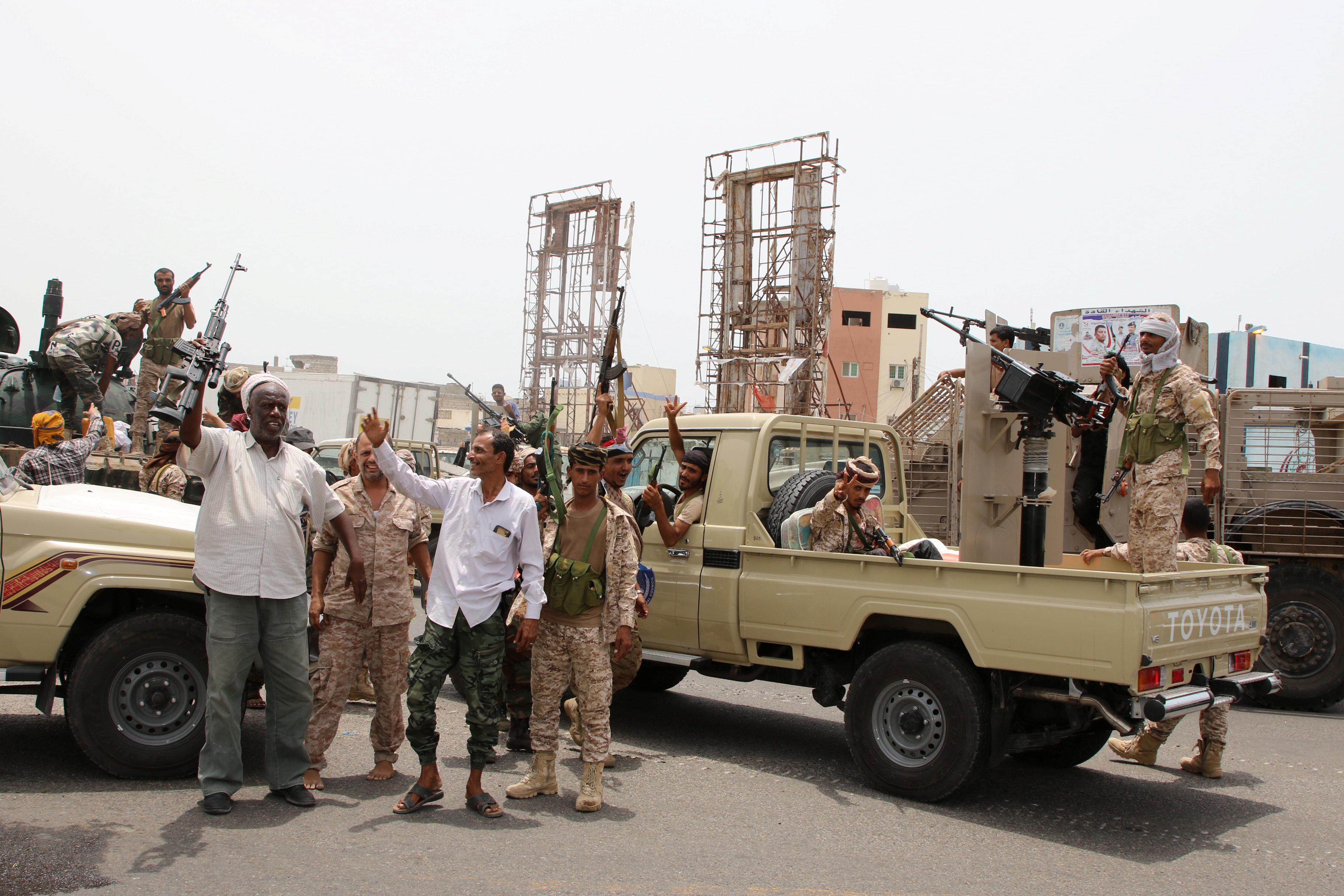 Yemen's pro-government coalition fractures as separatists grab...