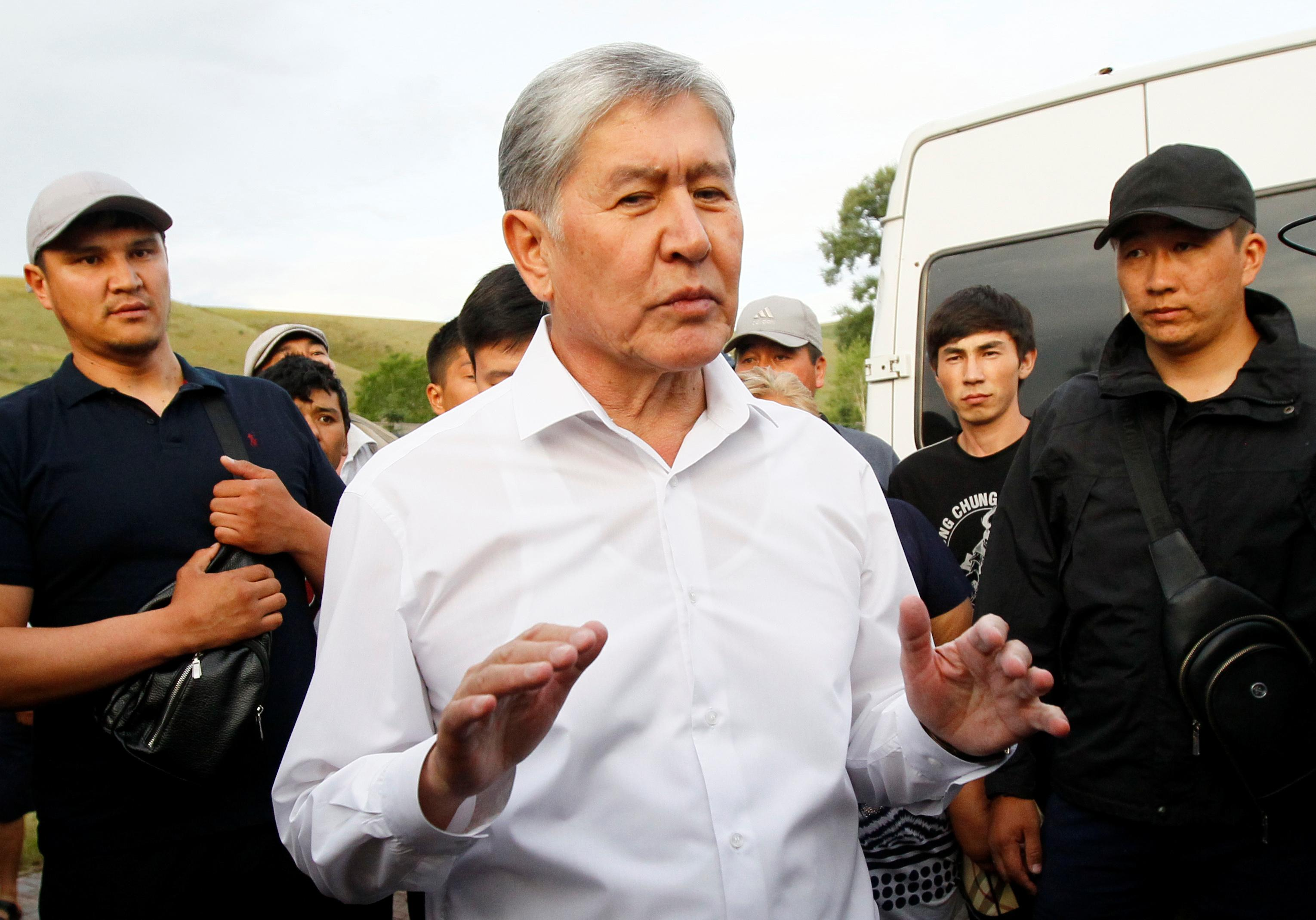 Kyrgyz ex-president arrested, accused of coup plan: state media