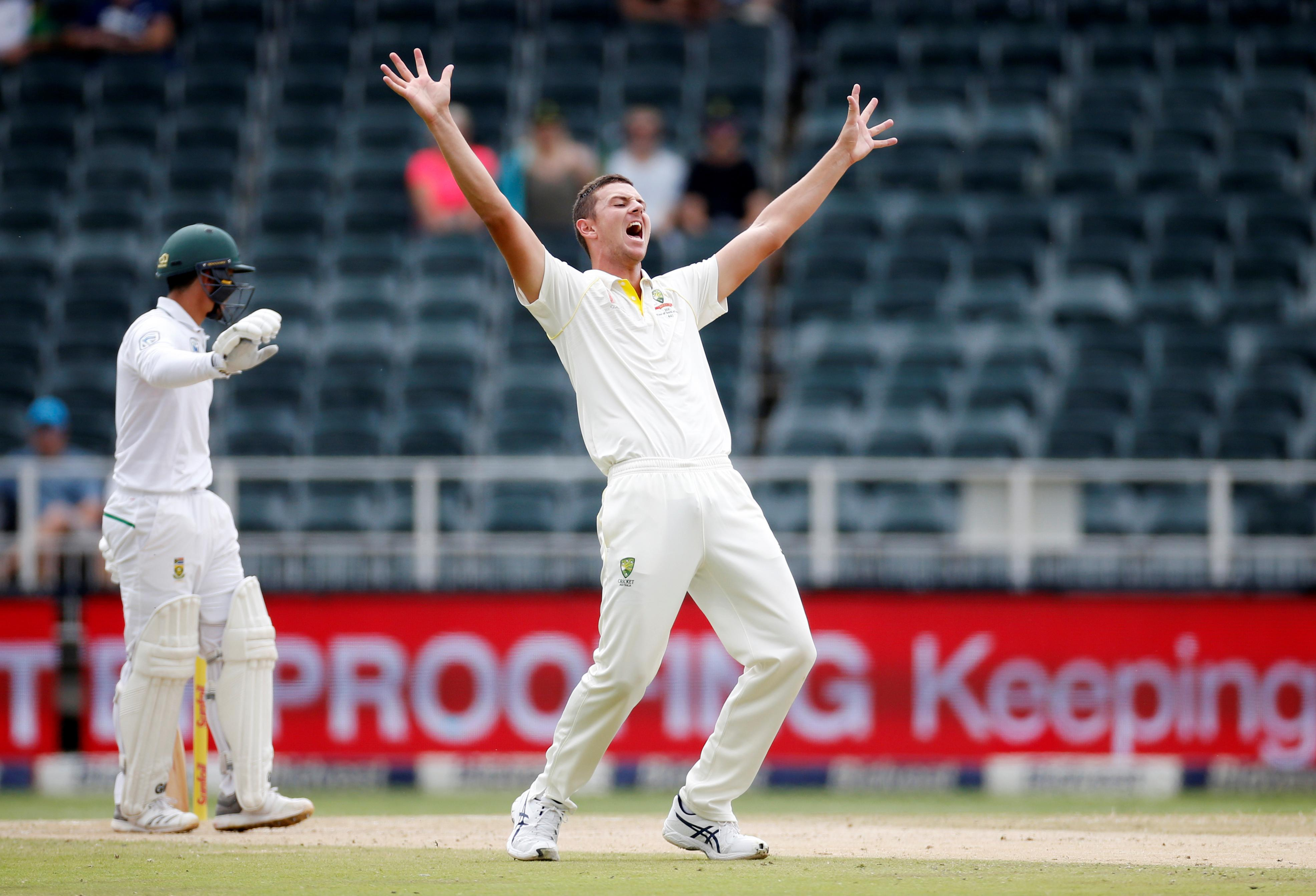 Hazlewood gets the nod for Australia in second test at Lord's