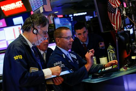 Wall Street ends sharply higher on German stimulus optimism