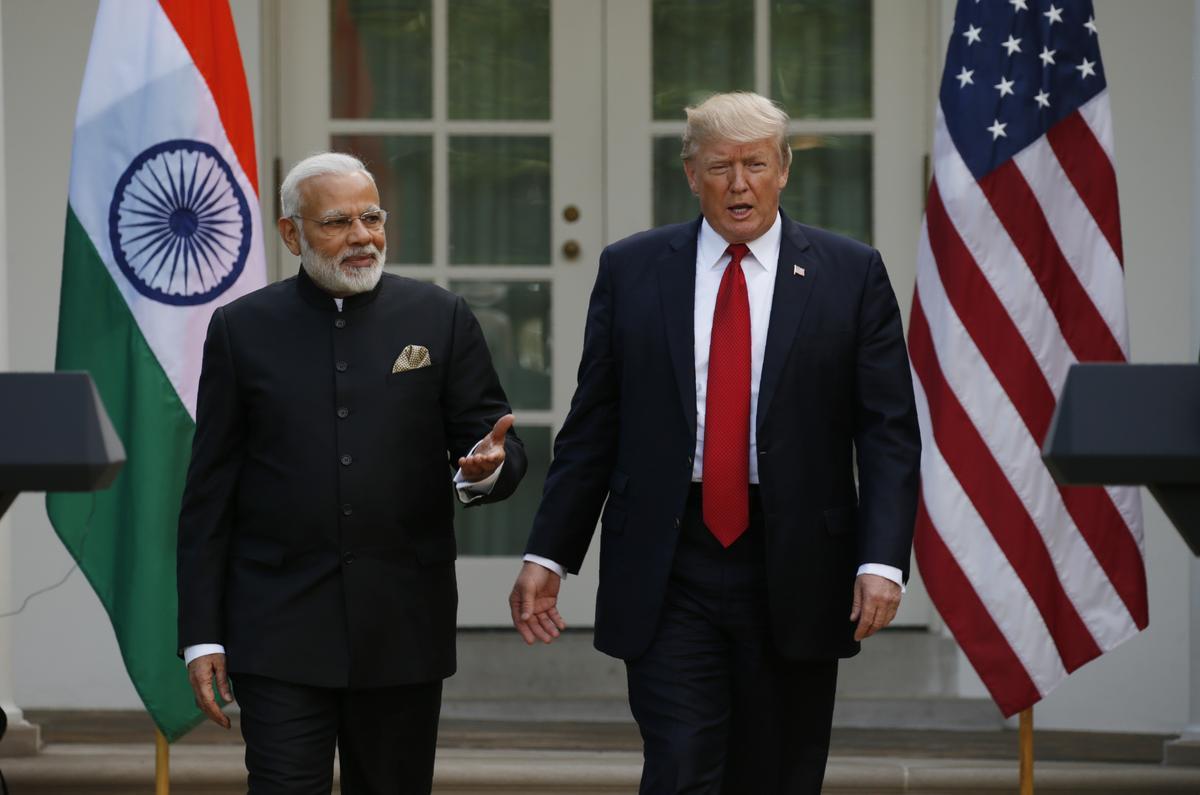 Premier Modi vertel Trump hoopvol dat Indië, VSA binnekort sal vergader om handel te bespreek