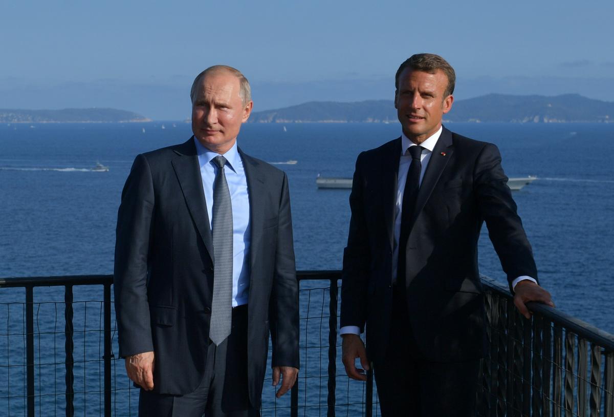 Kremlin: Ondanks Macron se vergadering is daar geen datum bepaal vir die Normandiese samesprekings oor die Oekraïne nie