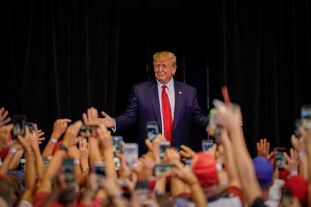 Trump says looking at possible U.S. tax cuts