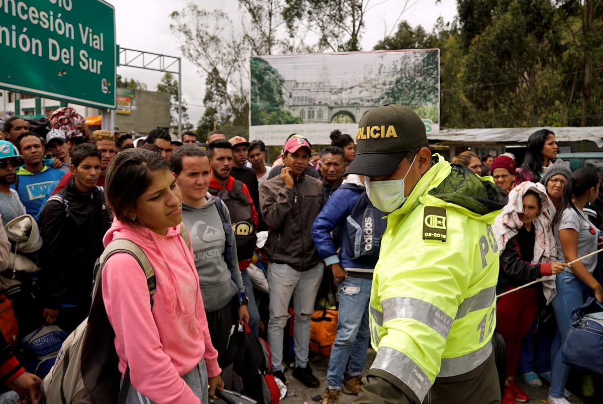 Colombia laments lack of aid for growing Venezuela migration crisis