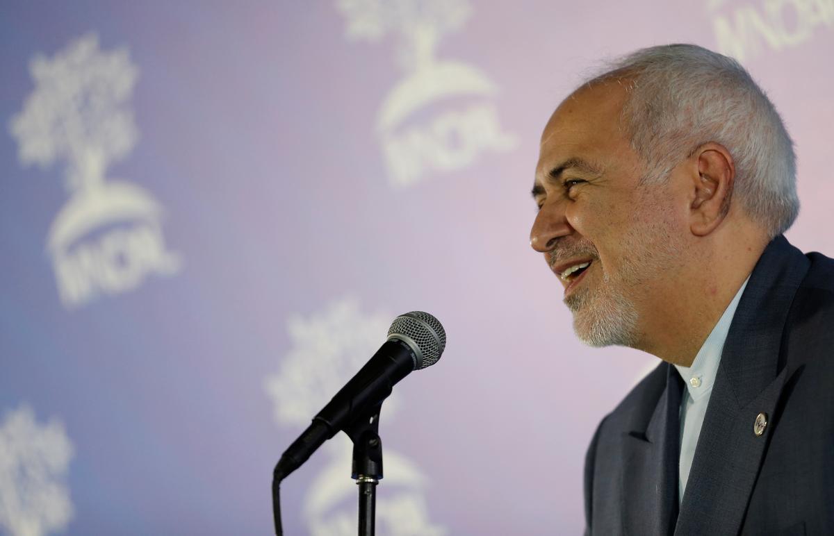 Iran se Zarif waarsku die VSA dat Teheran ook 'onvoorspelbaar' kan optree