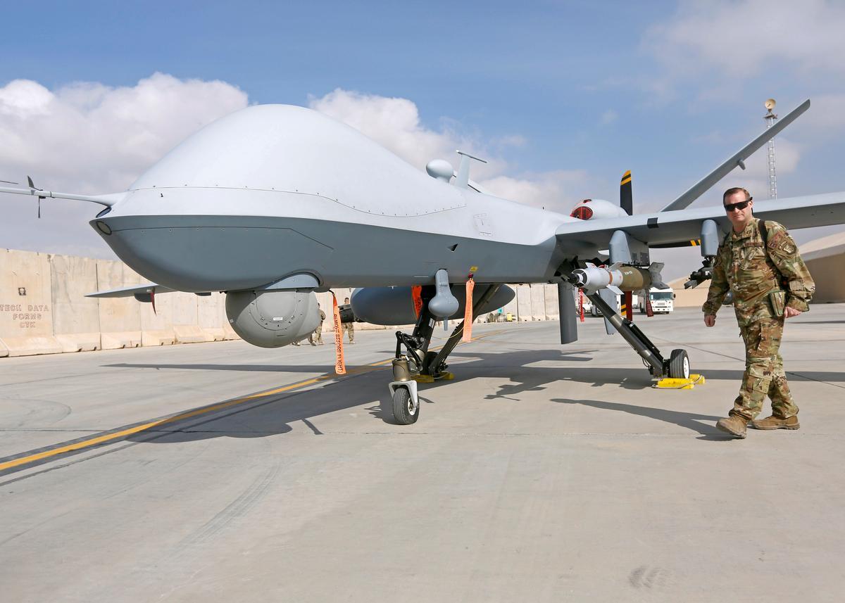 U.S. drone shot down over Yemen: officials