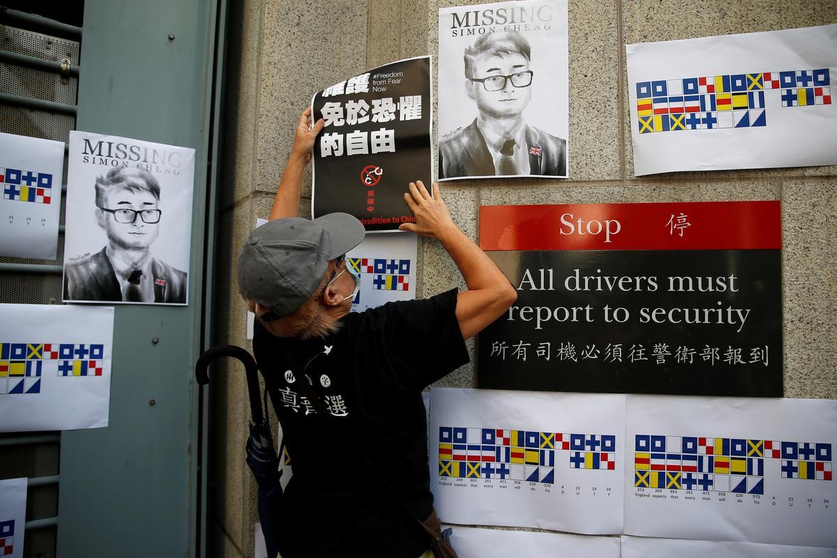 Brittanje vra vir inligting oor HK-konsulaatwerker wat in China aangehou word