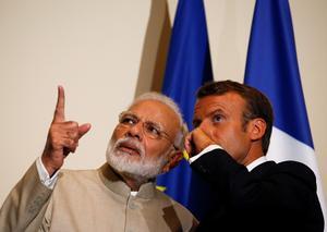 Modi visits France
