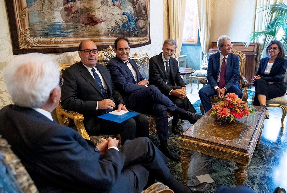 Italië se vyfster-PD maak vroeëre vordering met gesprekke oor nuwe regering
