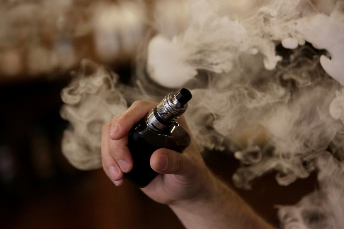 CDC flags one death and nearly 200 cases of lung illnesses in U.S., possibly tied to vaping