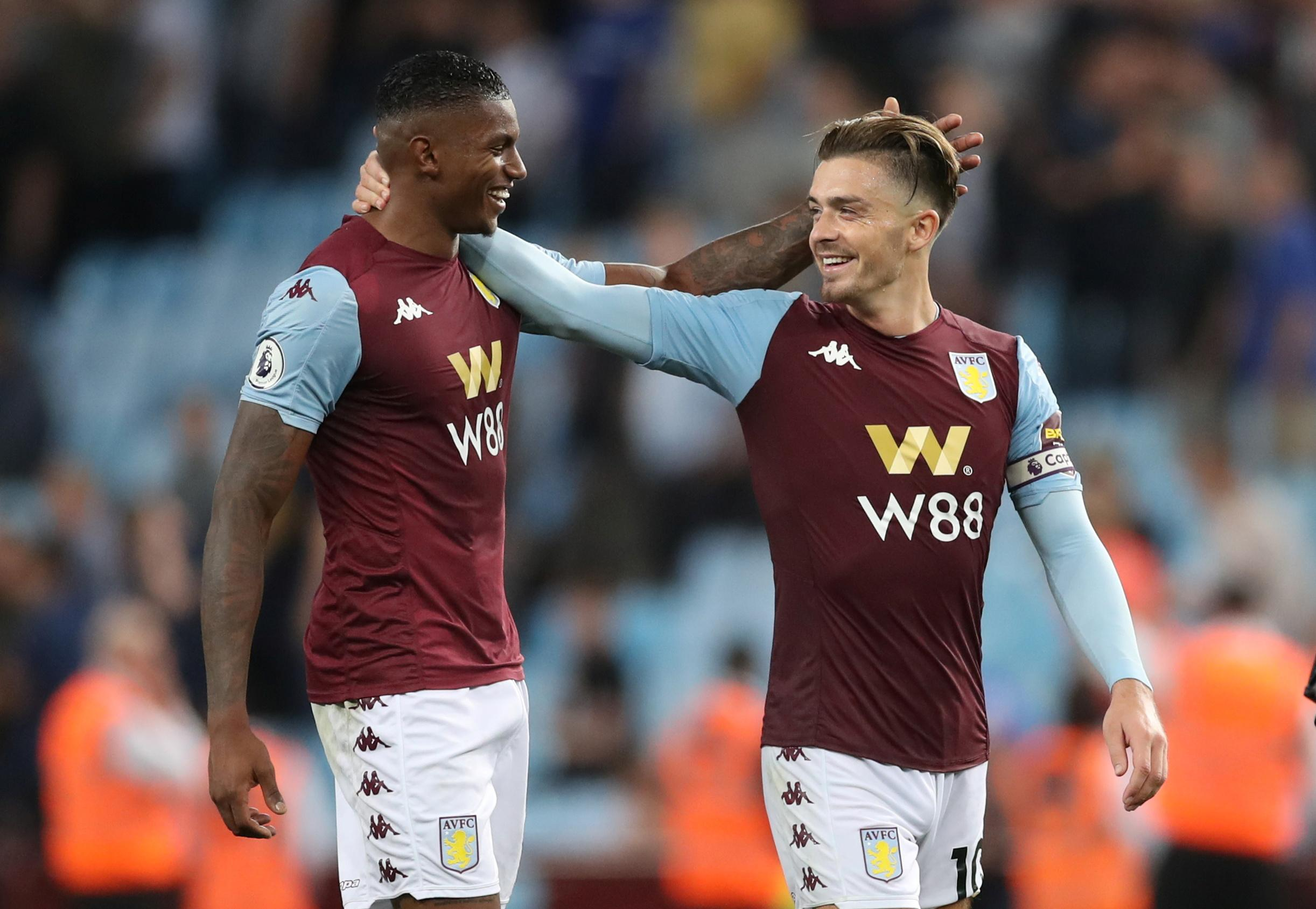 Villa get first points with 2-0 victory over Everton