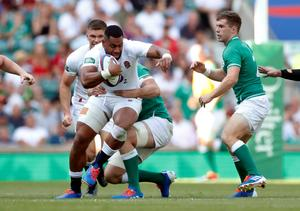 Rampant England thrash Ireland to lay down World Cup marker