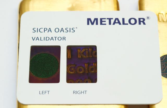 Exclusive: Fake-branded bars slip dirty gold into world