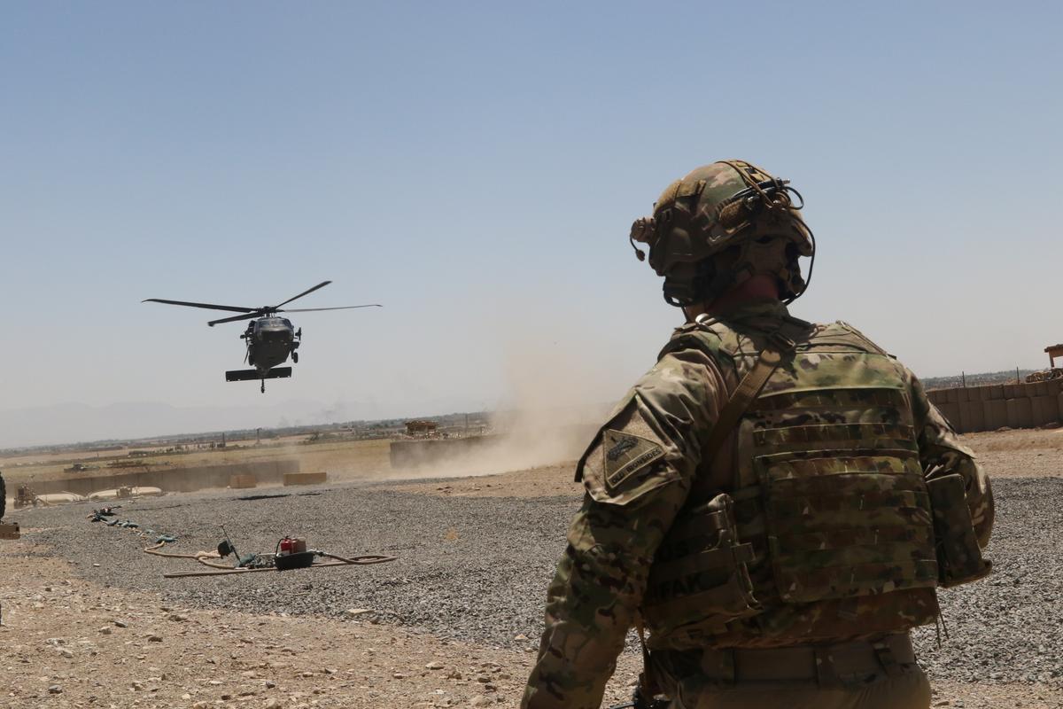Taliban sê byna 'n ooreenkoms oor die Amerikaanse onttrekking uit Afghanistan