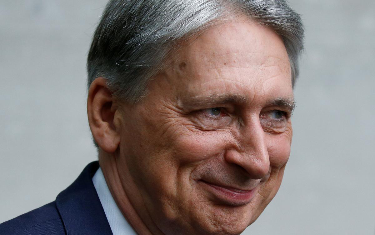 Former UK finance minister Hammond says move to block no-deal Brexit will have to be next week