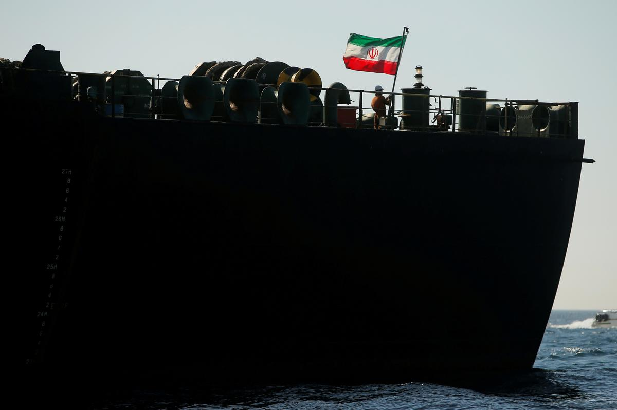 Iranian tanker changes course away from Turkish coast: tracking data