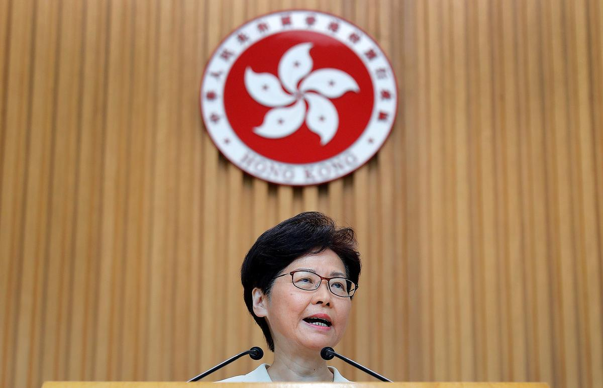 Special Report: Hong Kong leader says she would 'quit' if she could, fears her ability to resolve crisis now 'very limited'