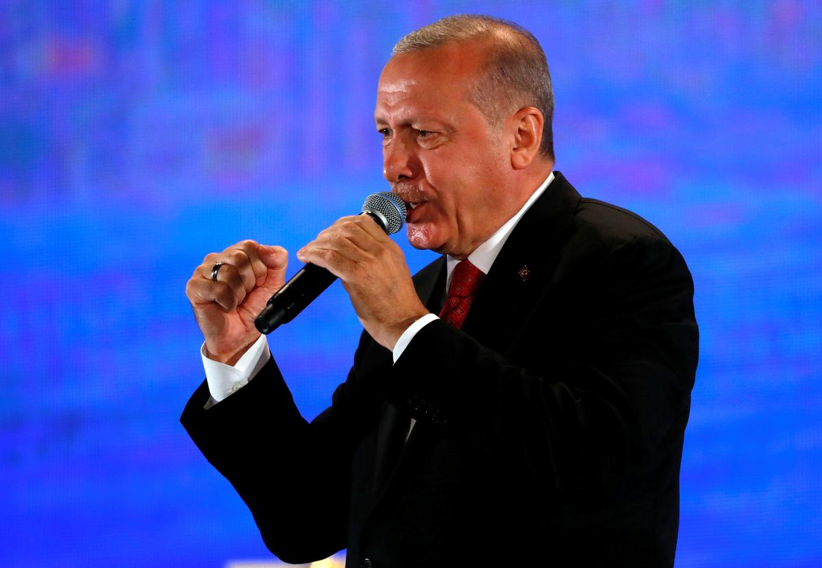 Erdogan says it's unacceptable that Turkey can't have nuclear weapons